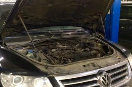 Где лучше ремонтировать VW touareg?