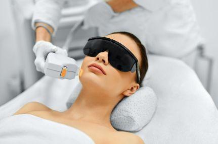 Использование лазера в косметологии.